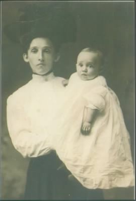 Edythe Jenkins and baby Emerson