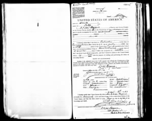 S. H. M. Byers passport application