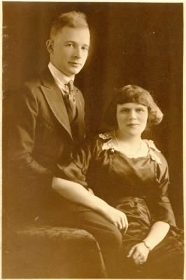 Mary Reed Hallman and Evan Jethro Hallman
