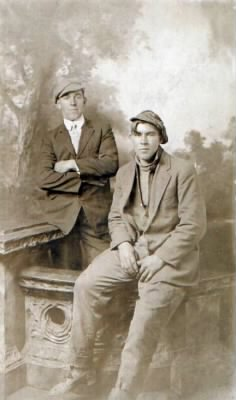Clayton & Buddy in Cincinnati 1915