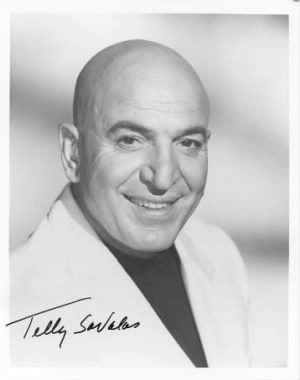Telly Savalas (January 21,1922 - January 22, 1994)
