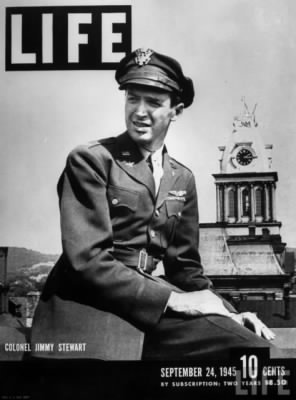 Jimmy Stewart LIFE Magazine Cover 1945