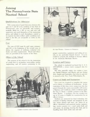 The Pennsylvania State Nautical School 2