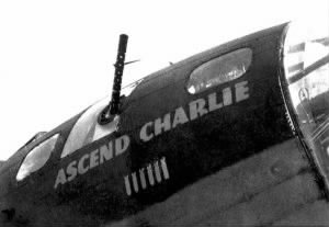 """Ascend Charlie"" Nose Art"
