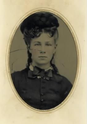 BERTHA JANE SEELY KIMBALL, 19 YRS OLD