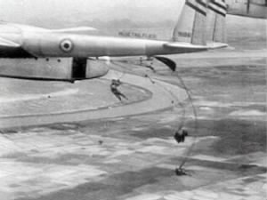 Air drop into Dien Bien Phu
