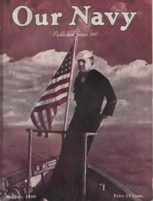 OUR NAVY magazine dated Mid-July 1940