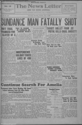 1937-Jul-6 News Letter Journal, Page 1