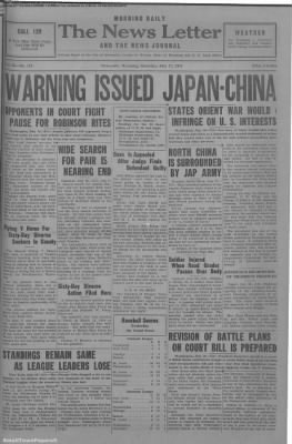 1937-Jul-17 News Letter Journal, Page 1