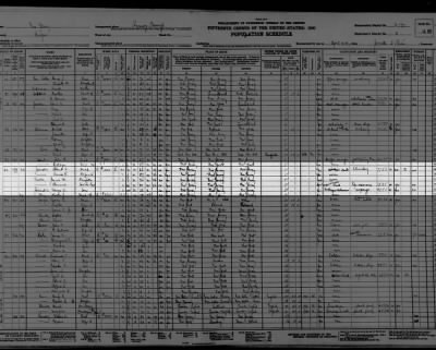 Zabriskie, Albert Family 1930 Census