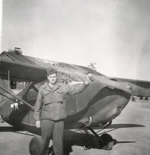 Guido by old army plane.jpg