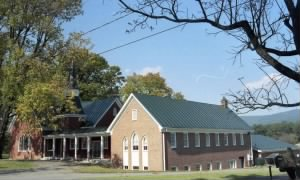 Hillsboro Baptist Church, adjoining the Brown property (3)