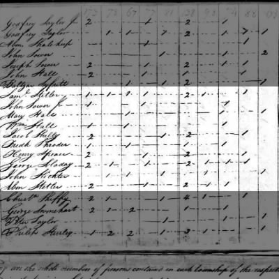 An A? STETLER, 1810 fed census, taken Montgomery Co., PA.