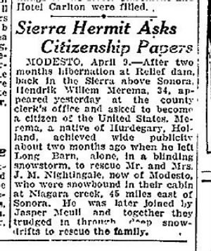 Oakland Tribune 10 April 1930 Oakland, California