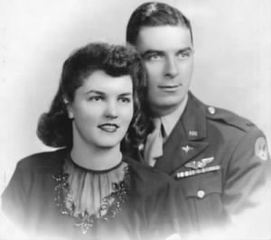 Daniel and Jean O'Connell, AAC - 321stBG, 447thBS