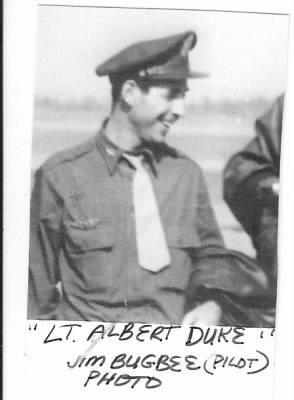 Lt Albert Duke, Pilot, B-25 Mitchells in the MTO 321stBG,447thBS