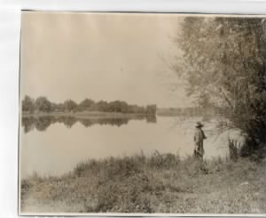 Feather River, looking toward Marysville, 1910.