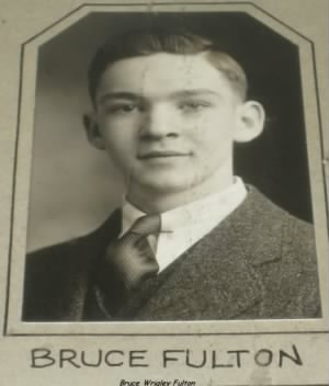 Lt Bruce W Fulton, TWIN, (1937, Yearbook)