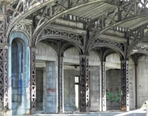 Arches from the Michigan Central Station