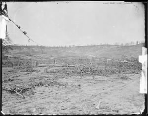 B-527 Scene of Sherman's attack, Missionary Ridge, near Chattanooga, Tenn.
