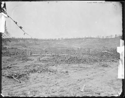 Mathew B Brady Collection of Civil War Photographs › B-527 Scene of Sherman's attack, Missionary Ridge, near Chattanooga, Tenn. - Fold3.com