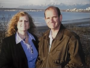 Doug and Roslyn Kinneard 2007 in Alaska