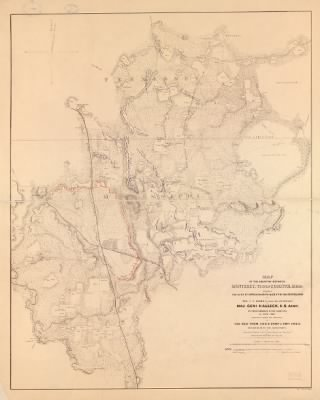 Map of the country between Monterey, Tenn: & Corinth, Miss: showing the lines of entrenchments made & the routes followed by the U.S. forces under the command of Maj. Genl. Halleck, U.S. Army, in their advance upon Corinth in › Page 2 - Fold3.com
