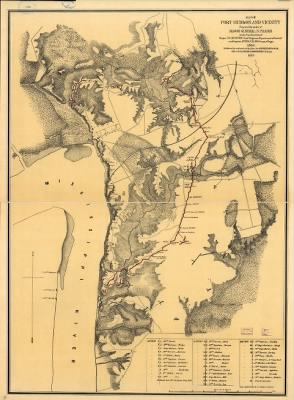 Map of Port Hudson and vicinity Prepared by order of Major General N. P. Banks under the direction of Major D. C. Houston, Chief Engineer, Department of the Gulf and Captain Peter C. Hains, Corps of Engr's. 1864. › Page 1 - Fold3.com