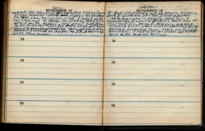 fh-nvd famd Norman Van Duncan's Missionary Journal Mentions Future Wife Sister Flora Miles on Sunday 17 Nov 1946.jpg