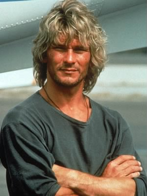 Patrick Swayze in Point Break