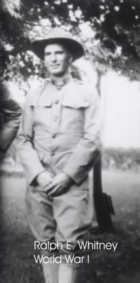 Ralph E Whitney WWII