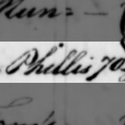 Phillis, Slave of Humphry Sommers