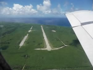 "Tinian Island, Pacific Ocean ""Runway ABLE"""