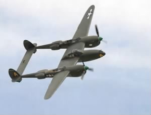 The swift and amazing P-38 Lightning Fighter