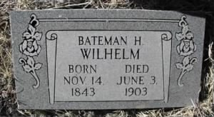 New Headstone for Bateman Haight Wilhelm