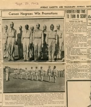 Carson Negroes Win Promotions
