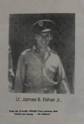 1943, Lt James B Fisher, Jr. B-25 Pilot out of Italy