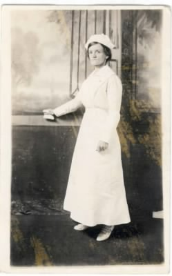 Lydia Corena Beesley TAYLOR in Her Uniform 1872-1970