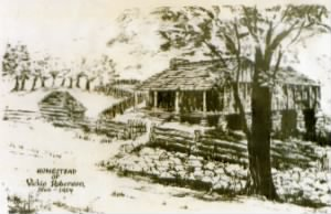 Original Homestead of James M Burnettt & Luvisa Jane Jackson Burnett.