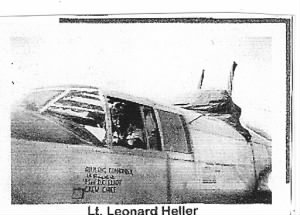 "Lt Len ""Nat"" Heller, 381stBG, WWII Corsica, B-25's. /George Underwood's Photo"