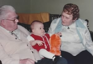 Eldon lauzon, Amanda lauzon, And Julia Lauzon