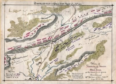 Battlefield of Bull Run : August 29th and 30th 1862. › Page 1 - Fold3.com