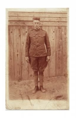 Shelby Lee Kershner, WWI