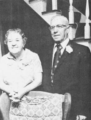 Chester West and Thelma Oakley West