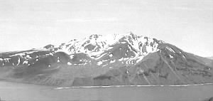 Mount Moffett on Adak