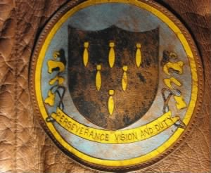 321st Bomb Group Original A-2 Jacket EMBLEM, Ollie wrote the book about this.