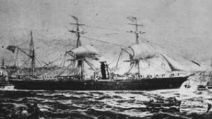 SS Russia re-named the SS Waesland