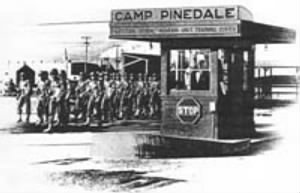 Camp Pinedale Gate near Fresno, California