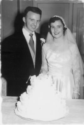 1952 Florence and Jack are married