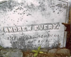 Grave of Andrew Perry Avery/Avery - old snapshot